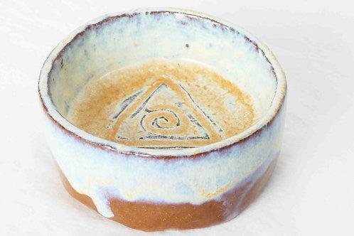 Teelichthalter perlmutt