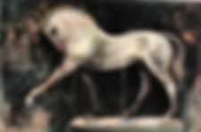 Anca - Sonia - White Horse Statue - 200