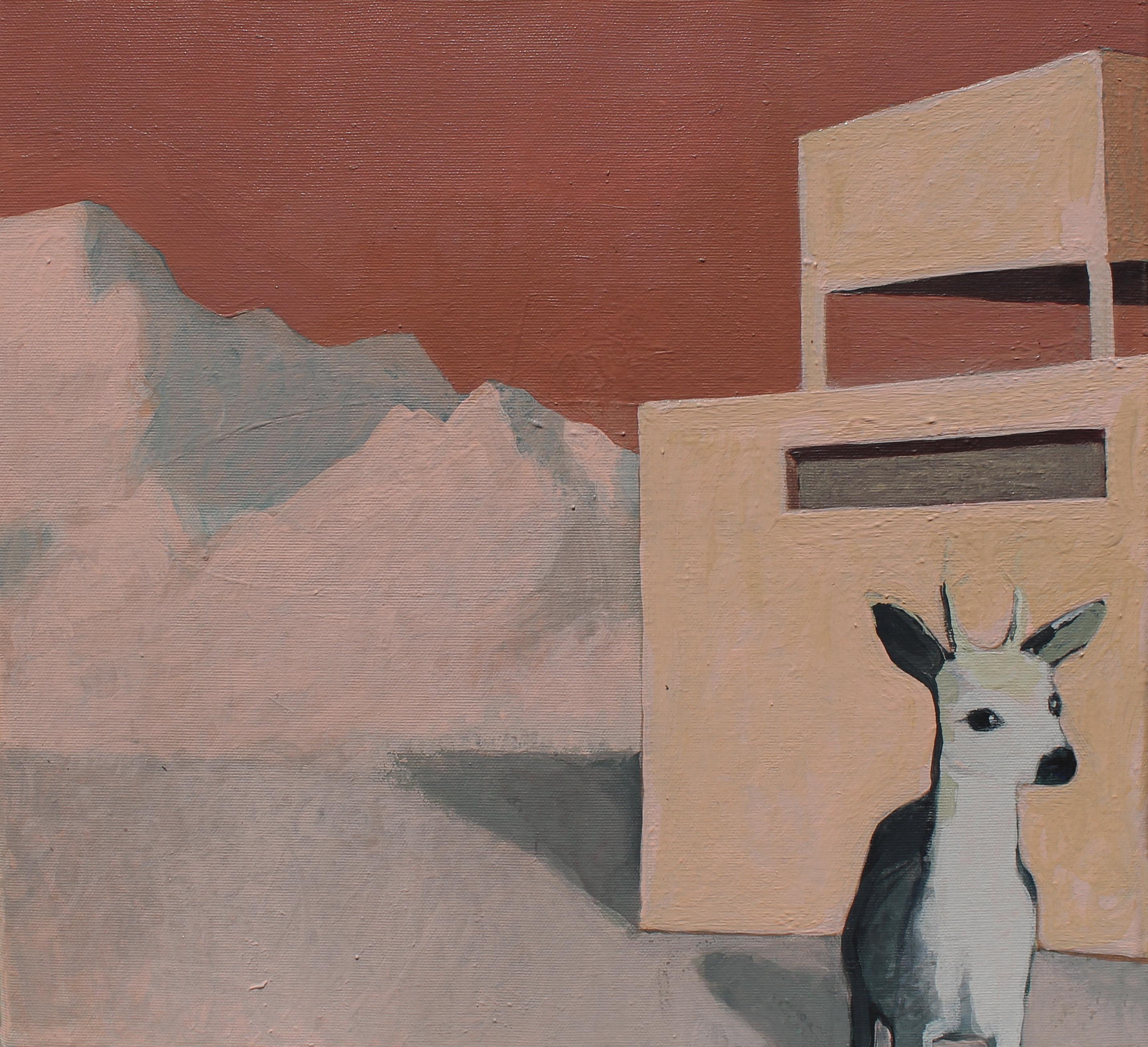 Deers Morning - 40 x 40 Cm