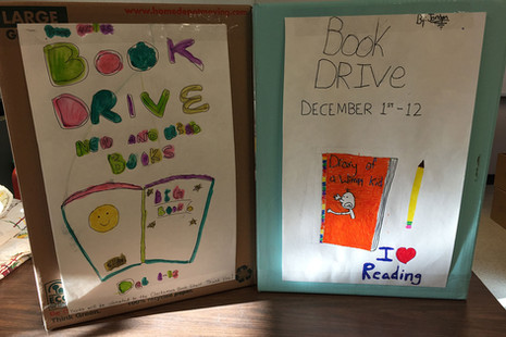 Book drive boxes