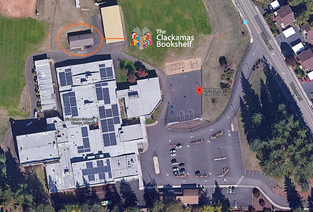 Aerial Map of The Clackamas Bookshelf