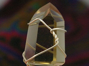 Smoky quartz healing crystal by Wicked stones in Canada