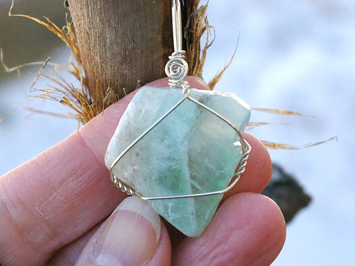 Green Calcite for new beginnings crystal by Wicked Stones in Canada