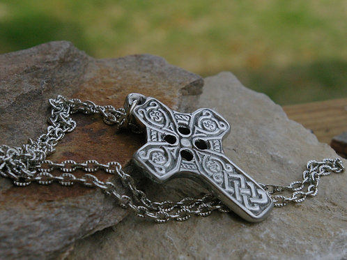 Celtic cross jewelry heavy cross at Wicked Stones in Canada