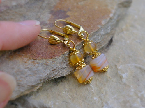 Carnelian crystal jewelry for motivation and change by wicked stones