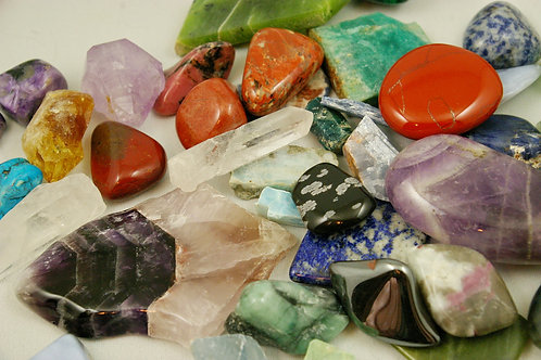 Mystery healing crystal set by Wicked Stones