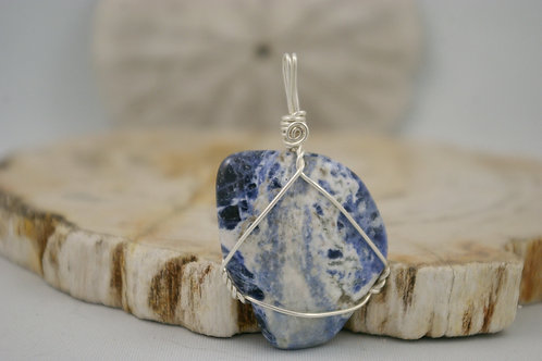 Ontario Princess Sodalite healing crystal jewelry by wicked stones