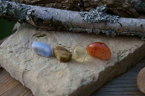 Manifest your desire crystal healing set by Wicked Stones in Canada