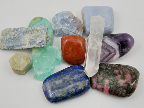 Mystery Crystal Set handmade by Wicked Stones in Canada