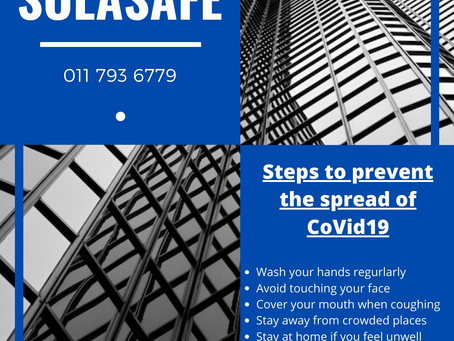 Solasafe | Covid19 and our Window Films