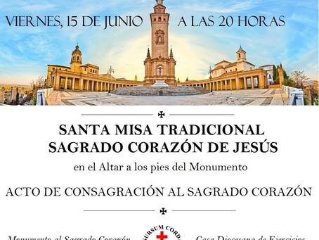 Misa Tradicional y Acto de Consagración al Sagrado Corazón de Jesús en SEVILLA