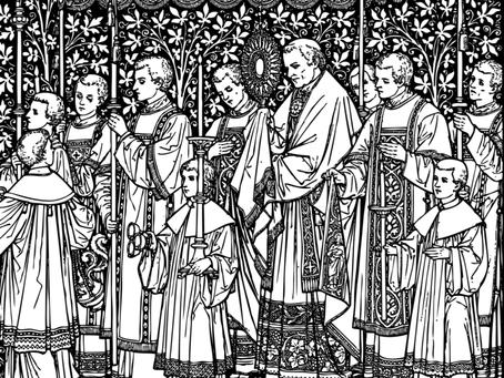 Horarios Misas del Corpus Christi