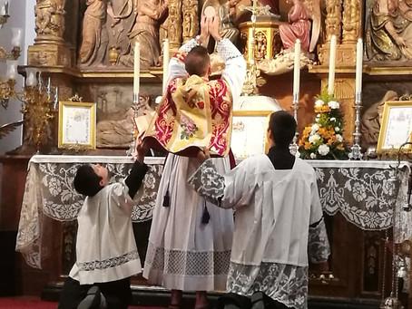 Celebraciones por la fiesta de San Pío de Pietrelcina en Toledo