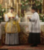 Misa tradicional en Toledo