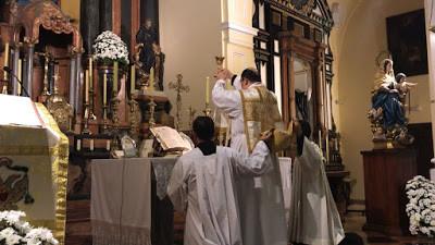 Horario de Misas en Málaga en noviembre y diciembre