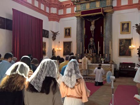 Misa de la Ascensión en Sevilla