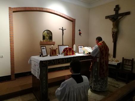 Festividad de San Pedro y San Pablo en el encuentro Vayamos Jubilosos