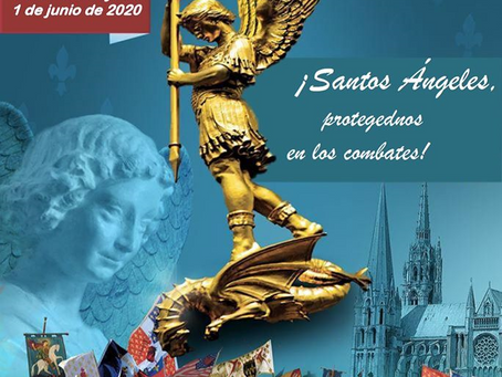 Peregrinación de París a Chartres 2020