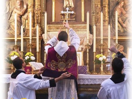 Santa Misa Tradicional y Conferencia a cargo del Reverendo Padre Don Carlos Vecino Carou en Baeza (J