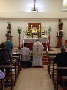 Se reanuda la Misa Tradicional en Gran Canaria