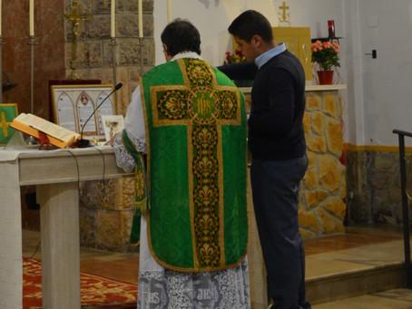 Primera Misa en la nueva ubicación en Asturias