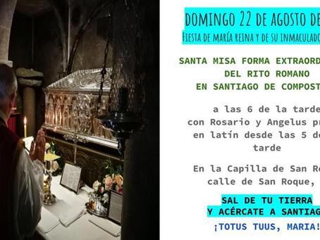 Misa Tradicional en Santiago de Compostela