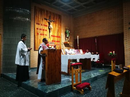 Misa cantada en Cuenca