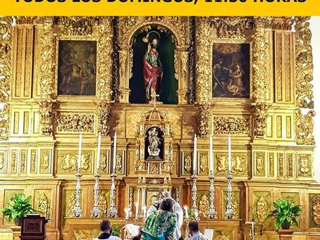 Misa Tradicional en Almería todos los domingos