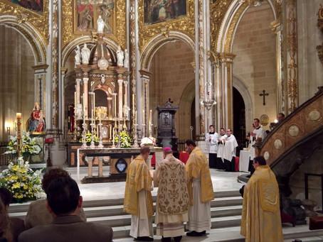 Misa tradicional en Almería