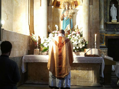 Horario de la Misa Tradicional en Salamanca