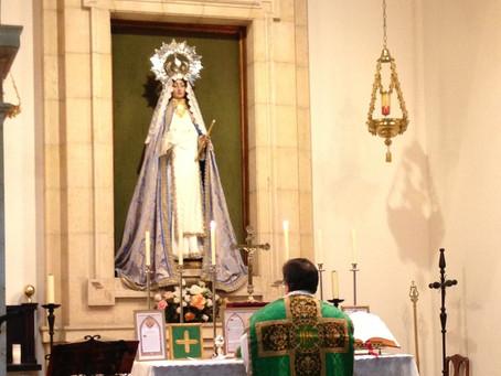 La Misa en Asturias pasa a celebrarse en Oviedo