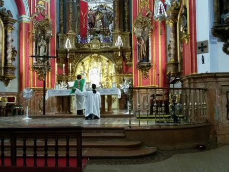 ¡Misa Tradicional en Málaga dominical!