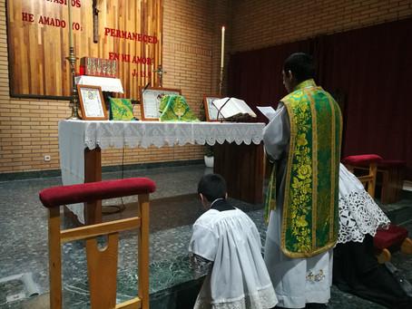 Misa Tradicional en Cuenca