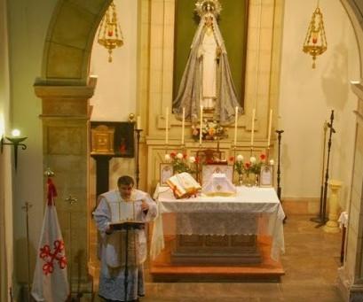 Cambio de lugar de celebración de la Santa Misa Tradicional en Asturias
