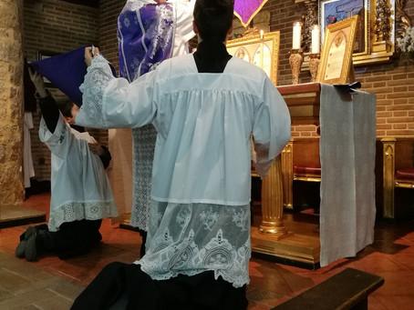 Misa tradicional en Torrijos del 1er Domingo de Pasión