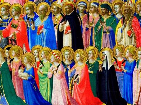 Solemnidad de todos los santos y conmemoración de todos los fieles difuntos