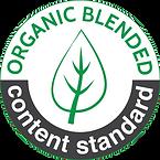 blended label organic content standard-m