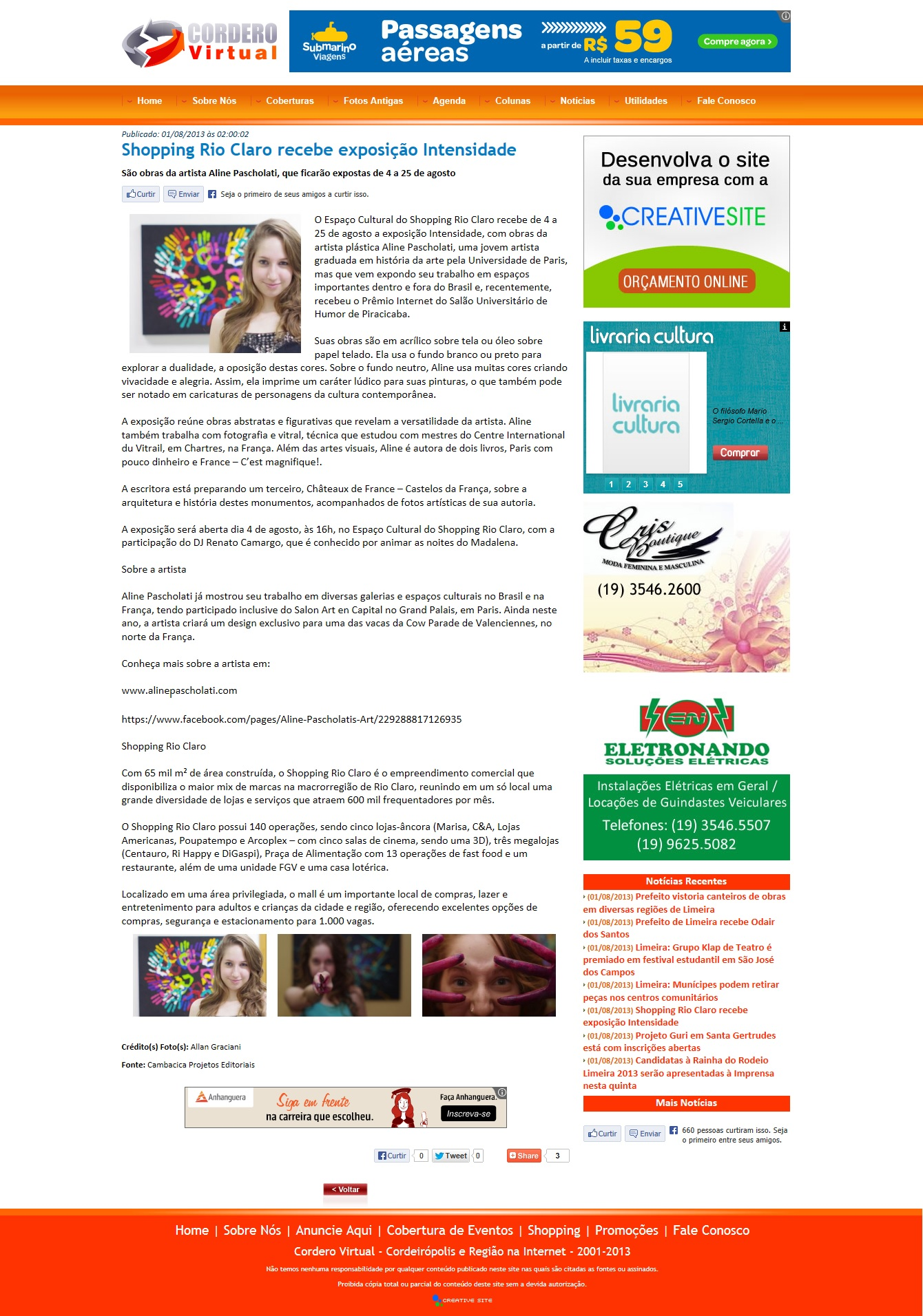 Website Cordero Virtual