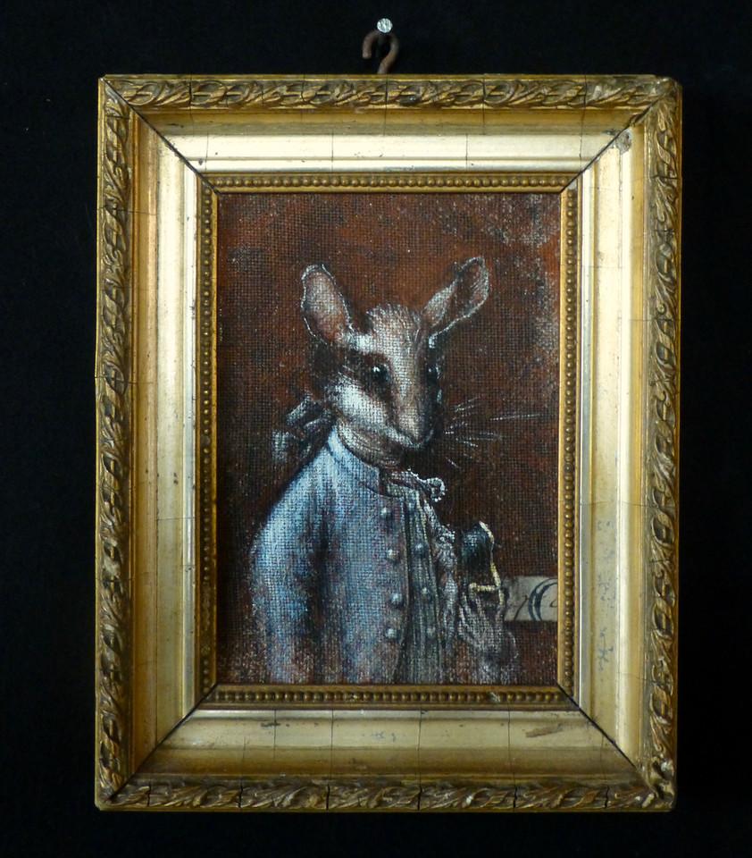 41. Prince de Pois-Sarrasin 14,5 x 18,5 cm