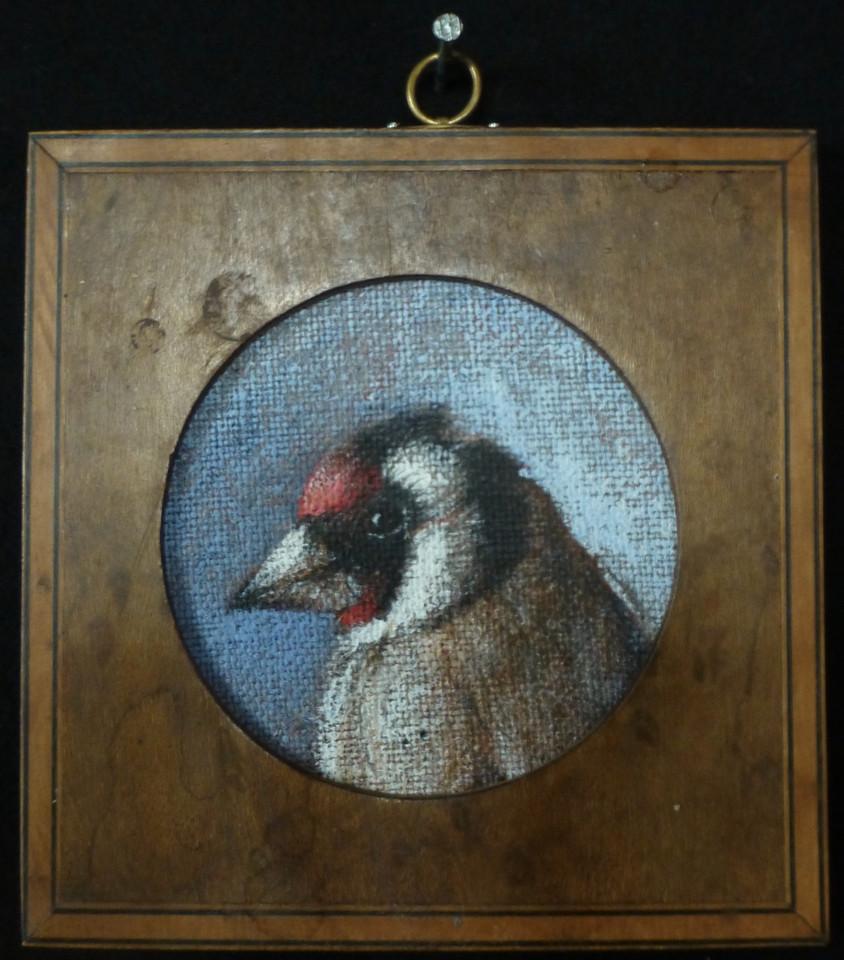 21. Oiseau du ciel  11 x 11 cm