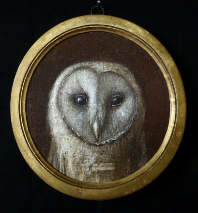 41- Effraie   23 x 23 cm