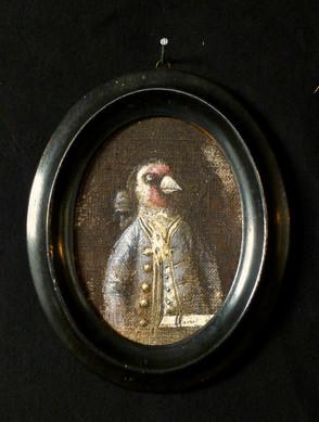 33. Isidore baron Piaf   14 x 17 cm