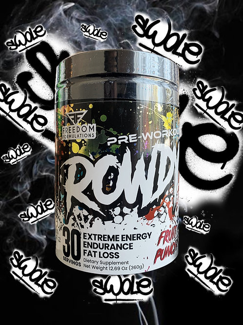 Rowdy Infused SARM Pre-Workout
