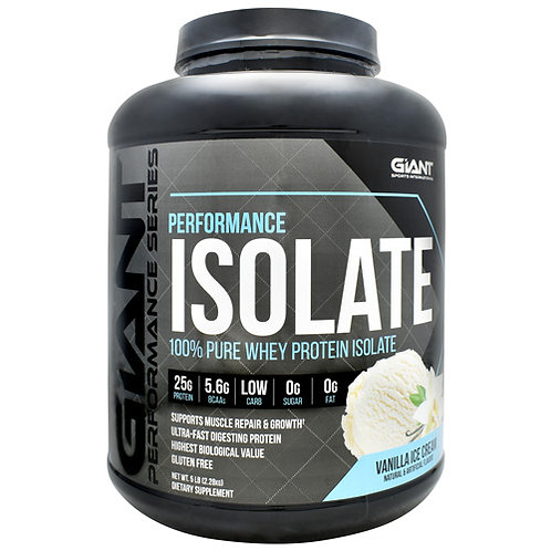 Giant Performance ISOLATE Protein