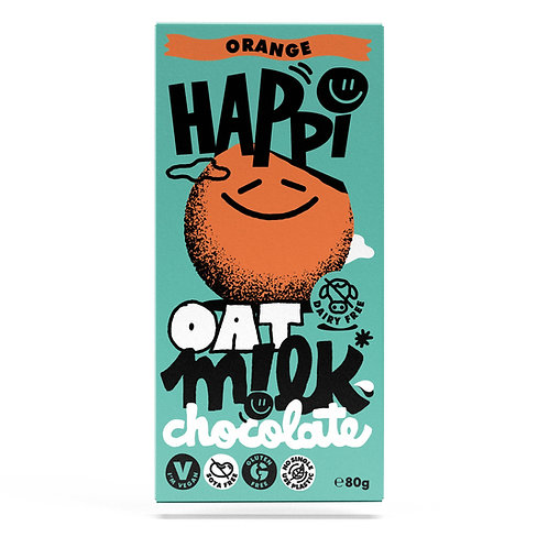 Oat M!lk Chocolate Bar- Orange
