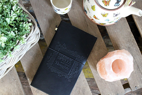 My Book of Spells and Other Thoughts - Leather Grimoire