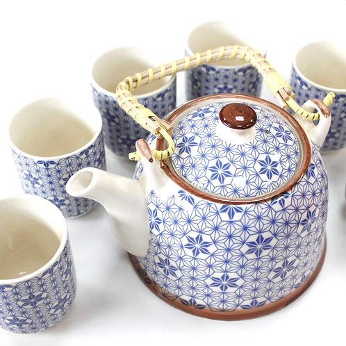 Herbal Tea Set- Blue Stars