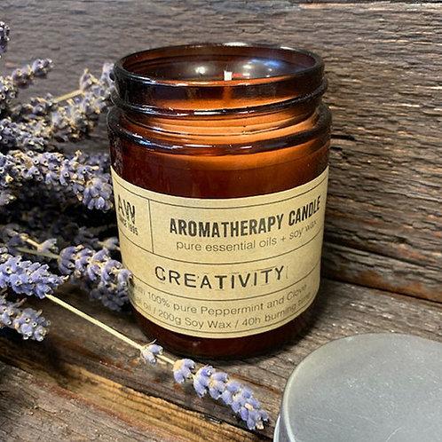 Aromatherapy Candle- Creativity