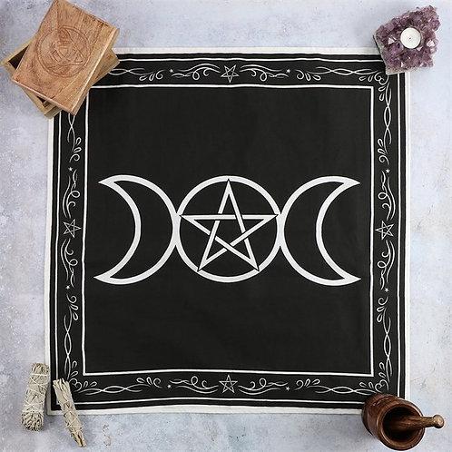 Triple Moon Altar Cloth
