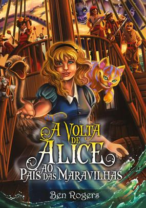 Capa de livro ilustrada